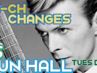 Ch-ch-ch-changes!